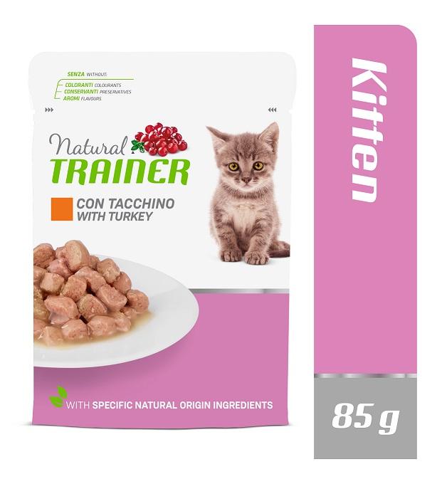 Trainer Kitten with Chicken