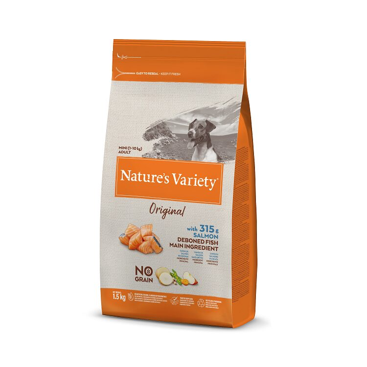 Nature's Variety Mini Adult Salmon