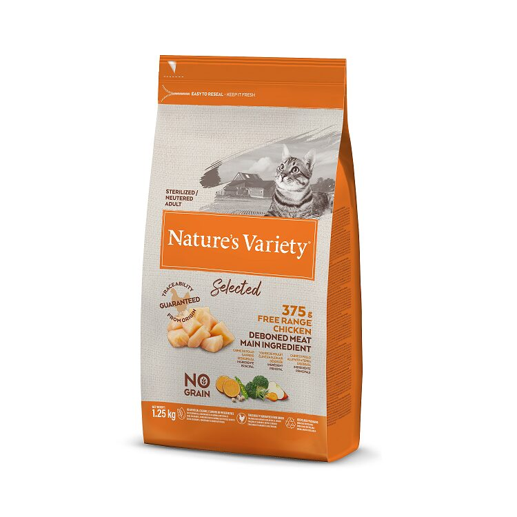 Nature's Variety Selected sterelized Cat Free Range Chicken