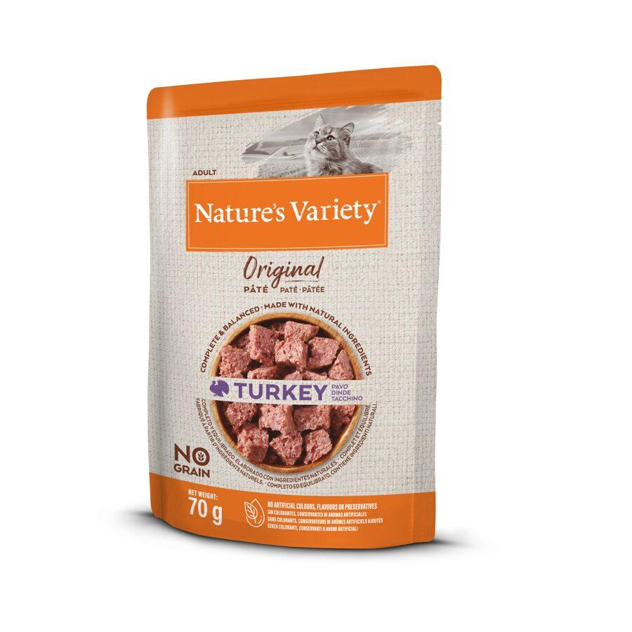 Nature's Variety Pate Cat Original Turkey